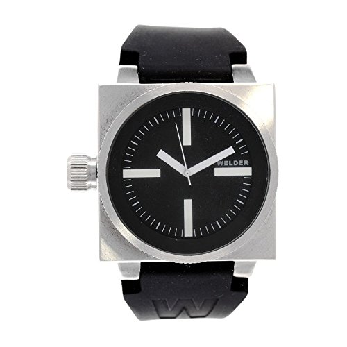 Coffret reloj Welder hombre K-26modelo Data negra y plateada–5000/2000K26