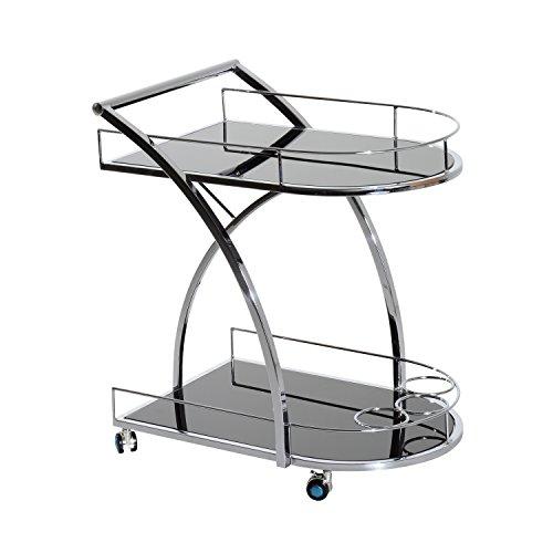 Homcom® Küchenwagen Servicewagen Küchentrolley Küchenregal Rollwagen Beistellwagen
