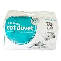 Sarah Jayne Anti-Allergy Duvet/Quilt, 4.5 Tog, Cot Bed
