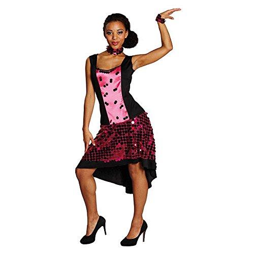 Glamour Girl Gr. 42 Fasching Karneval Kostüm Verkleidung Mottoparty ()