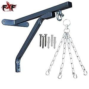 Supporto resistente per sacco da pugile con sospensione a catena, in acciaio, 4 catene