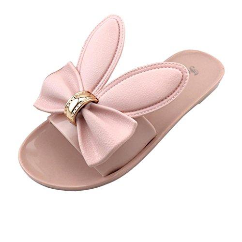 Rcool Frauen Sommer Strand Schuhe Damen Hausschuhe Flat Heels Flip Flops  Sandalen 85c5239ab7