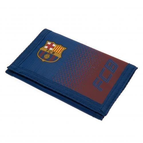 Preisvergleich Produktbild Barcelona FC Football Club Red Blue Fade Wallet Card Coins Pouch Cash Official
