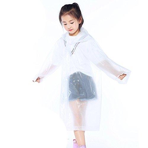 Ears 1PC Children Reusable Raincoats Children Rain Ponchos -