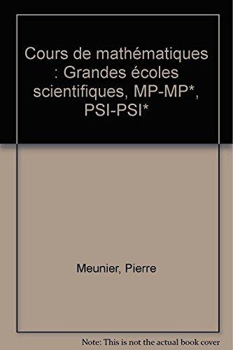 Agrégation interne-classe de spéciales MP-MP*