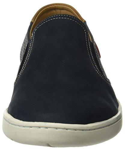 Tienda Calidad Herren 65530 Sneaker Blau