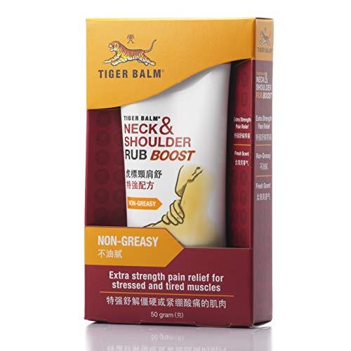 Baume du Tigre Crème Nuque et Épaule 50g | Crème Relaxante Anti-Douleurs (Version Froide)