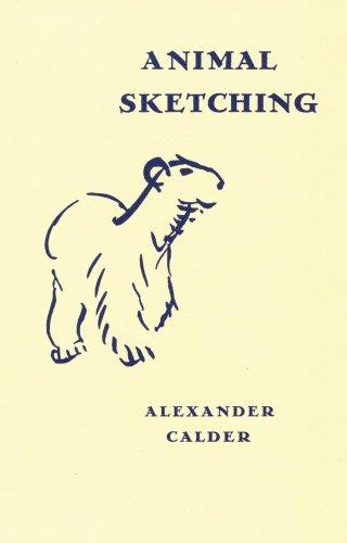 Animal Sketching par Alexander Calder