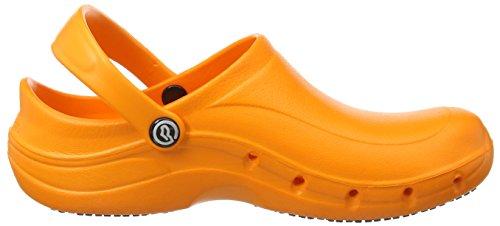 Toffeln  Eziklog, Chaussures de sécurité mixte adulte, Bleu (Navy), 42 Orange (Orange)