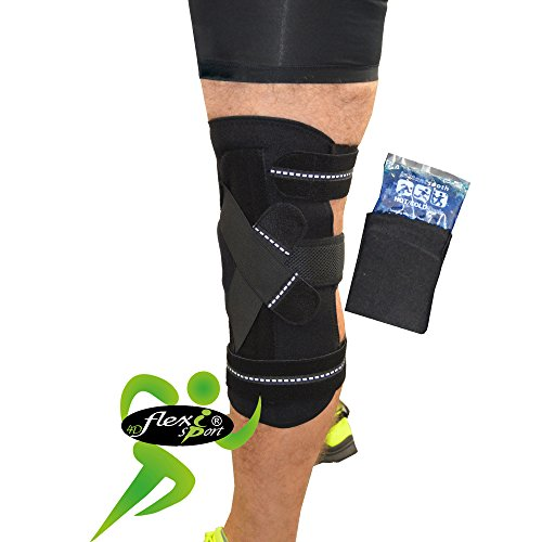 knee-support-acl-pcl-quality-brace-with-reusable-ice-pack-velour-pouch-plastic-stays-deliver-safe-fl