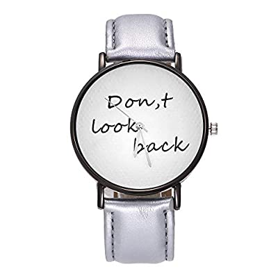Womens Geneva Quartz Watches,Ulanda-EU Unique Numeral Analog Clearance Lady Wrist Watch Female Watches on Sale Watches for Women,Round Dial Case Comfortable Faux Leather Wristwatch m30 : everything five pounds (or less!)