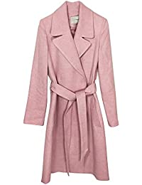 Stradivarius Donna Cappotto in Panno con Cintura Limited Edition 5869 132 3af4919bff2