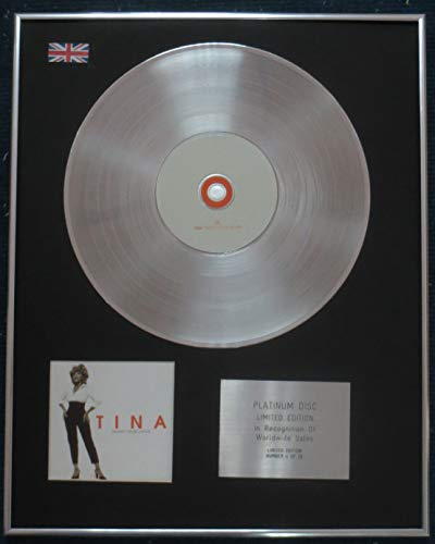 Century Presentations - Tina Turner CD Platin LP Disc - 24 Vier, Sieben Stück Platin-musik