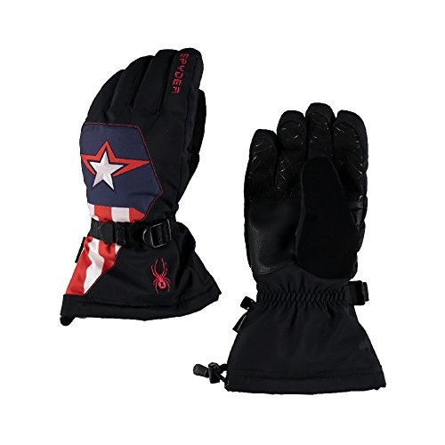 Spyder Active Sports Herren Marvel Overweb Gore-Tex Handschuhe, Herren, Black/Captain