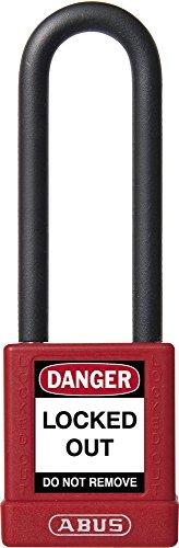 Abus 74/40HB75 Rojo - Candado no conductor para seguridad 40mm arco ex