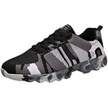 online store 3e455 a766b Darringls Zapatos de hombre,Zapatillas Deporte Hombre Zapatos para Correr  Athletic Cordones Air Cushion Running Sports