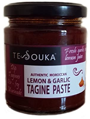 Tagine paste: Authentic Moroccan garlic & lemon 165g