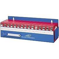 HELIOS-PREISSER Fühlerlehrenband-Set im Wandhalter 15-teilig, 0,01-0,25 mm, 0611180