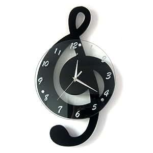 Cnmklm Fashion Movement Wall Clock Living Room Watch Large Wall Clock 5 Kitchen