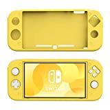 STHIRA® Cover for Nintendo Switch Lite Case, Anti-Slip Soft Silicone Cover Case Protective Shell for Nintendo Switch Lite Console - Yellow