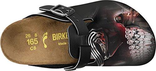 Birkenstock Boston Star Wars, Zoccoli Unisex – Bambini Black (Kylo Ren Black Red)