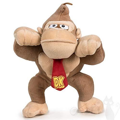 "Super Mario Bros - Donkey kong plush toy 7'48"" 19cm"
