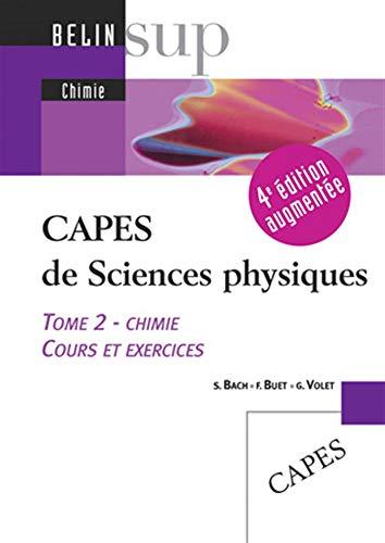 CAPES de Sciences physiques