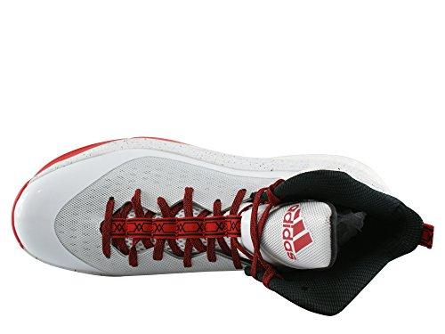 adidas D ROSE 5 BOOST weiß/schwarz/rot