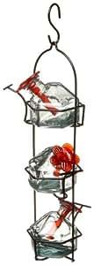 Parasol lunchpail 3Kolibri Feeder Vogelhäuschen klar