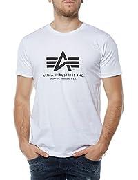Alpha Industries Herren Regular Fit T-Shirt Basic T-Shirt