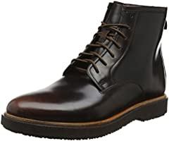 Clarks Men's Modur Hi Classic Boots, Brown (Dark Tan Lea), 12 UK