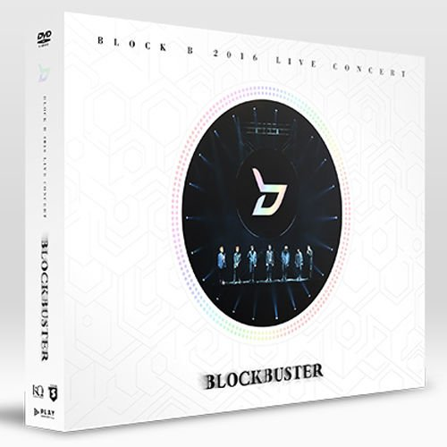 BLOCK B - [2016 LIVE CONCERT BLOCKBUSTER] DVD 2 DISC+64p Photo Book K-POP SEALED (Block B Blockbuster)