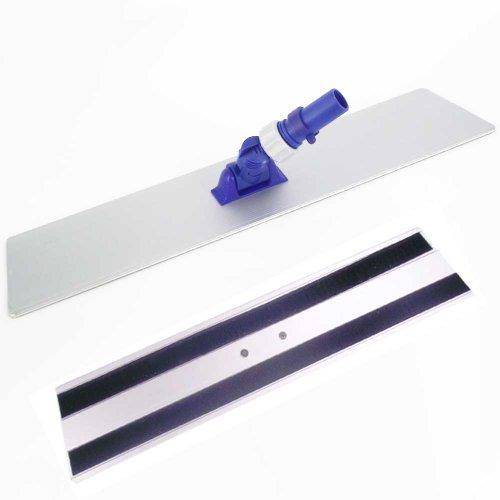 Base Scopa di pulizia per il pavimento-Alluminio-QUALITÀ professionale-23cm