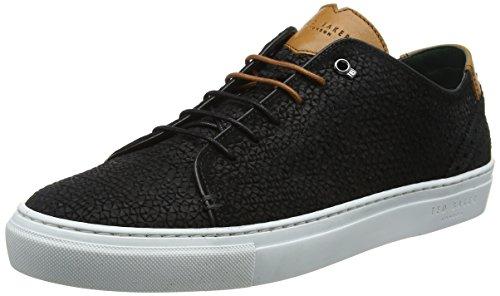 Ted Baker Herren Duukes Sneaker, Schwarz (Black #000000), 45 EU (Ted Leder Halbschuhe)