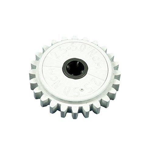 Preisvergleich Produktbild 1 weisses Zahnräder Zahnrad 24 Zähne 2.5 5.0 NcM Rutschkupplung weiß Rad Technik Technic Lego B54