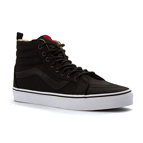 Vans Sk8-Hi Reissue PT Military Twill Black True White Noir