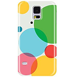Wildpunch WP-SGE7(2) Colorful Abstract Designer Phone Back Cover Case For Galaxy E7 (Multicolor)