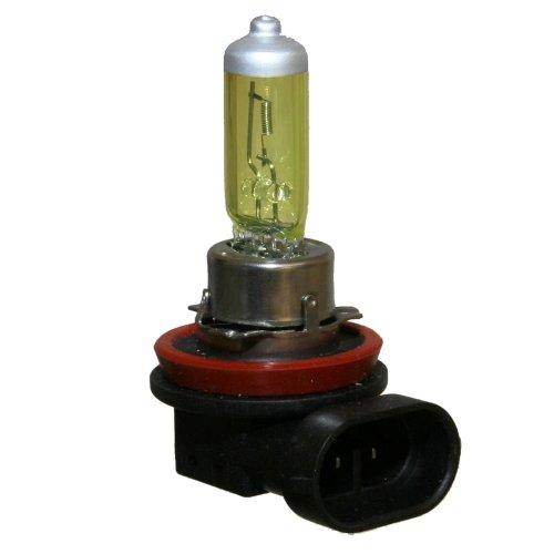 Preisvergleich Produktbild 2x H11 Super-Yellow 12Volt Lampen GELB 55Watt Nebelscheinwerfer Halogen Fog Lamp Bulbs [B] Neu Otto-Harvest