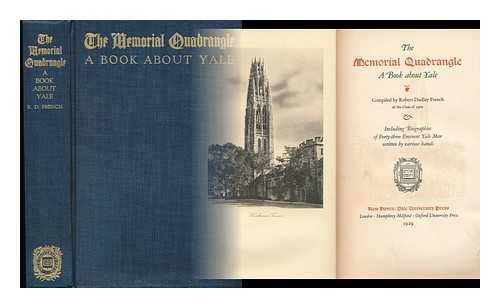The Memorial Quadrangle, a Book about Yale