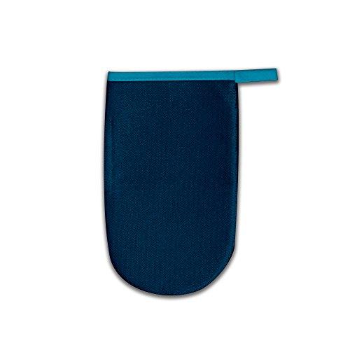 LaundrySpecialist® GUANTE QUITAPELUSA para eliminar fácilmente los pelos de sus animales y las pelusas de la ropa y otros tejidos – reversible y lavable. (Azul)