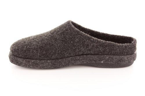 Andres Machado.AM001.AUTHÉNTIQUES chaussons MADE IN SPAIN Unisex.Petites et Grandes Pointures. 26/50 Noir