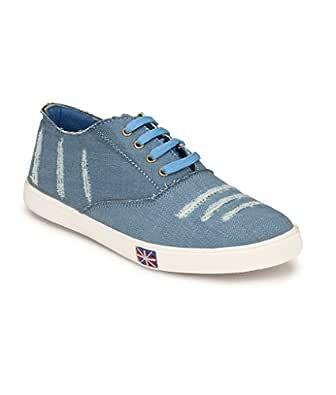 SHOE DAY Men' S Casual Shoes Blue