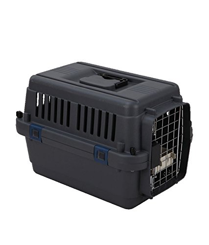 Pethub High Quality Atlas Ferplast 20 Inch Black Dog House