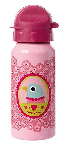 sigikid, Mädchen, Trinkflasche mit Drehverschluss 0,4 l, Finky Pinky, Rosa, 24775