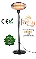 Firefly 2KW Free Standing Patio Heater - 3 Power Settings