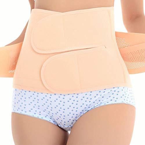 Bauchband für Damen, nach der Geburt, Korsett zur Erholung nach der Geburt, Bauchgürtel, Korsett mit hoher Elastizität für Frauen und Schwangerschaft, Aprikose, S