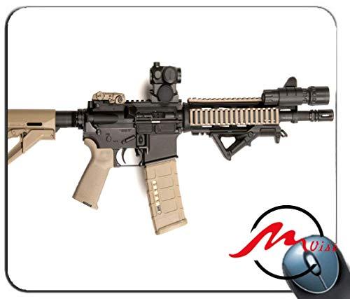 ZMvise AR-15 Mauspad mit Hintergrund, rechteckig