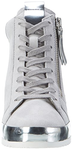 Gabor Shoes Comfort, Scarpe da Ginnastica Alte Donna Grigio (light grey 40)