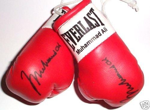 Signiert Mini Boxhandschuhe Muhammad Ali Ali Boxhandschuhe