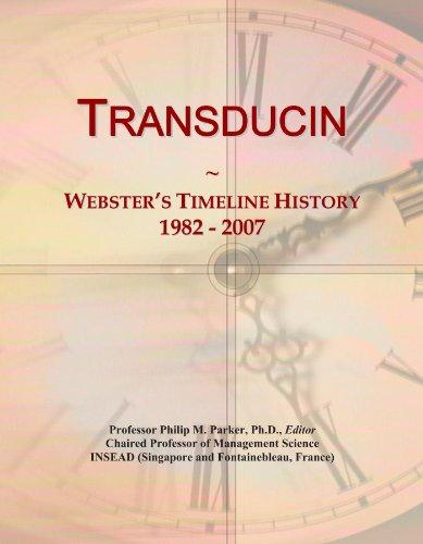 Transducin: Webster's Timeline History, 1982 - 2007